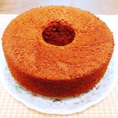 米粉のチョコシフォンケーキ