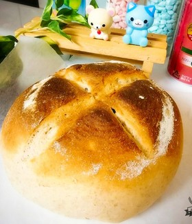 低糖質カンパーニュ♪【モチ麦粉使用】