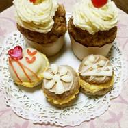 バレンタイン♥マカロンみたいなハンバーグ