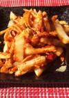 白菜と鶏むね肉のサムジャン炒め