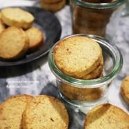 ギーで作る!くるみアイスボックスクッキー
