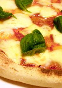 基本のピザ生地◇もちもちナポリ風