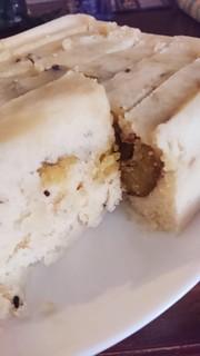 レンジで簡単!《米粉サツマイモ蒸しパン》の写真