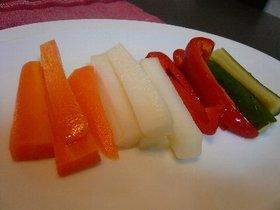 IKEA風シンプルな野菜のマリネ