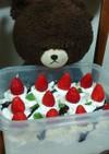 ジャッキー先生はがぶりよりスコップケーキ