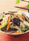 椎茸と切り干し大根の炒り煮