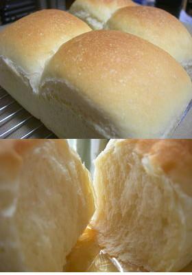 生クリーム入りミニ食パンだょ
