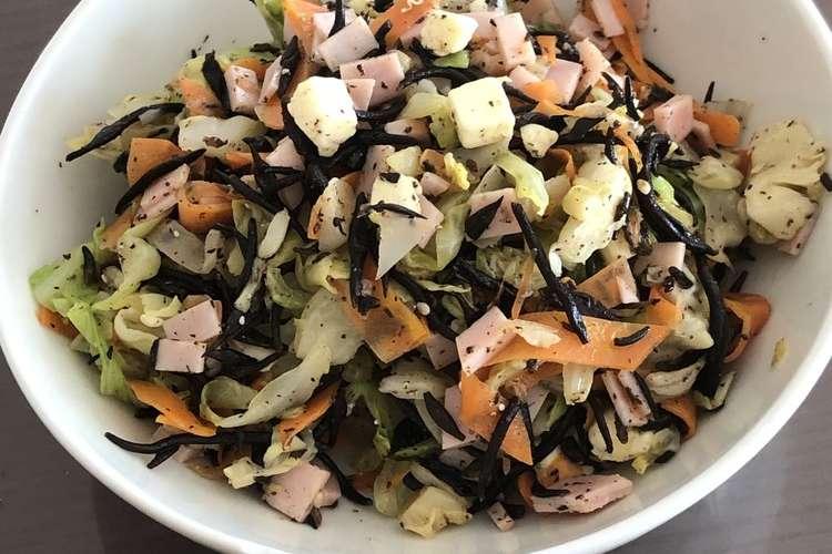 ひじき サラダ