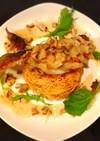鱈や鯛deムニエル 揚げ素麺と共に♡