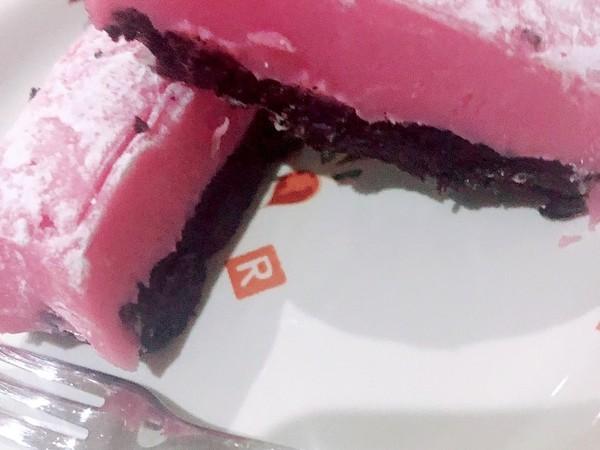 バレンタイン♥いちごの生チョコケーキ
