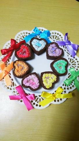 キスマイ茶封筒記念日☆チョコムースタルト