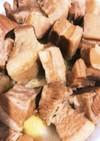 圧力鍋で豚バラブロックの角煮
