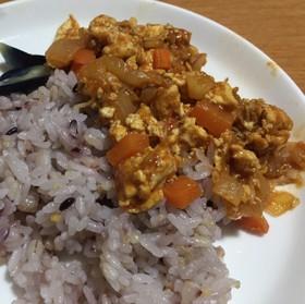 豆腐のキーマカレー
