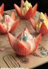 簡単★イチゴのオシャレアイス