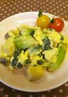 高野豆腐のスクランブルエッグ