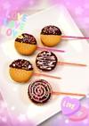 キャンディ風♡マシュマロサンド