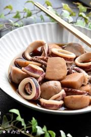 母の味☆父の好物・イカと里芋の炊いたんの写真