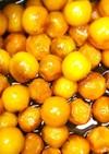 炊飯器で簡単★黒糖で金柑の甘露煮