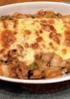 こっくり☆白菜とベーコンの味噌豆乳ドリア