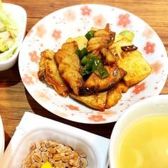 鯖と山芋の甘辛煮