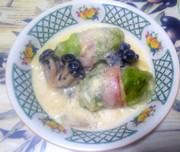 ロールキャベツのクリーム煮の写真