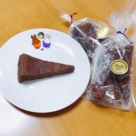 簡単♡ウィスキーしみるショコラケーキ♡
