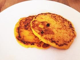 離乳食完了期 もちもちかぼちゃパンケーキ