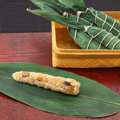 椎茸と鶏肉のちまき