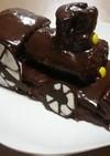バレンタイン☆誕生日 SL機関車 ケーキ