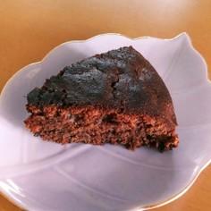 チョコチップチョコケーキ