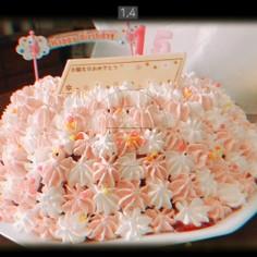 市販のロールケーキで簡単ドームケーキ