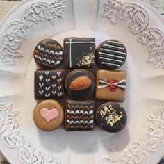まるでチョコのようなクッキー