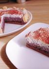売れる!ブルーベリームースのチョコケーキ
