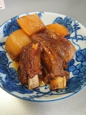 スペアリブで豚の角煮