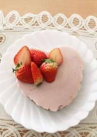 いちごムース&チョコレートチーズケーキ