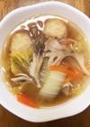 超簡単!具だくさん白菜のはるさめスープ♪