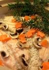 ニジマスの炊き込みご飯