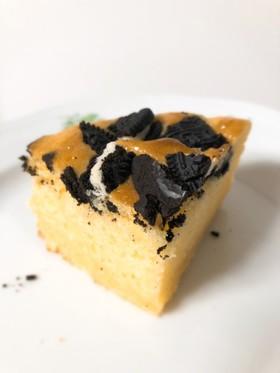 材料3つ☆HMとアイスの簡単オレオケーキ