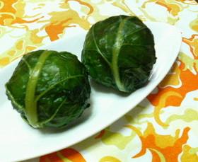 お弁当に簡単♪✿鮭入り❀野沢菜おにぎり✿