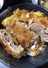 豚バラ薄切り肉をカツ丼風に!
