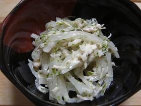 大根の青海苔サラダ♪