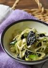 長ネギと海苔の中華風サラダ