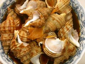 洗って煮るだけ♪簡単♪煮つぶ貝♪
