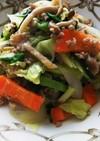 キャベツ常備野菜と挽肉の味噌炒め♪