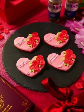 2019年バレンタインアイシングクッキー