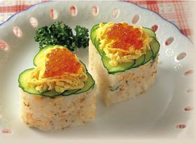 型押し寿司