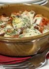 しし肉とトマトのチーズ焼き