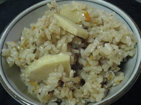 筍のたきこみご飯(しっかり味編)