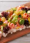 ひな祭りサーモンフラワー 彩ちらし寿司
