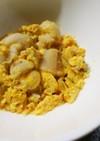 離乳食中期~レンジで*麩としらすの卵とじ